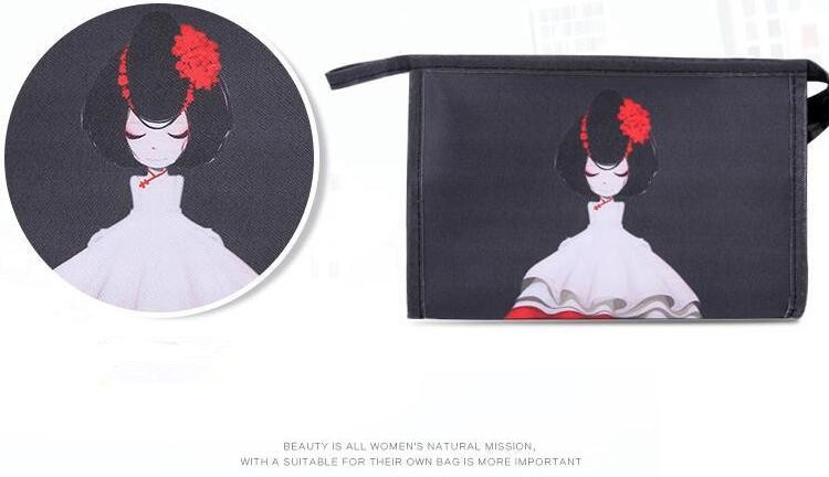 Printing Conjuring Cosmetic Bag
